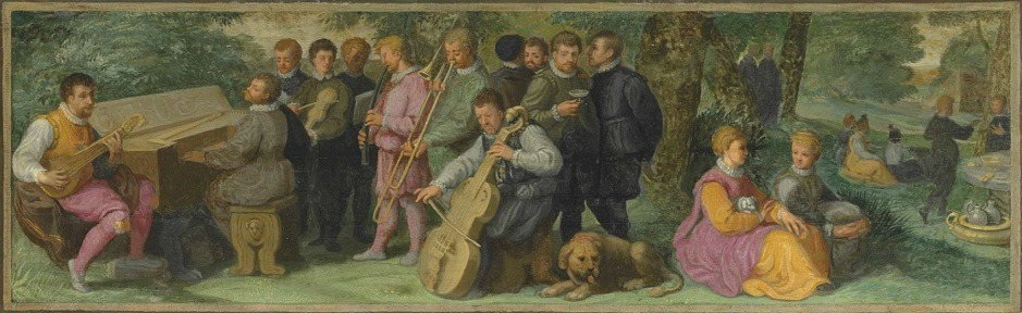 Detail from A Pastoral Concert